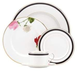 Kate Spade Rose Park Five-Piece Place Setting