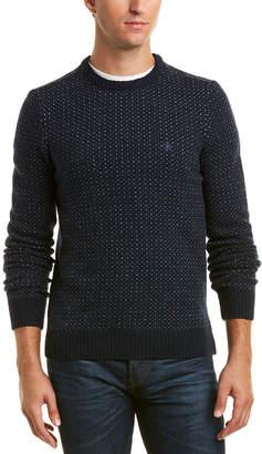 Original Penguin Wool-Blend Crewneck Sweater