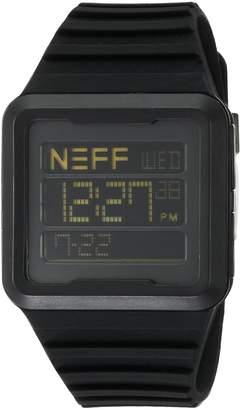 Neff Men's NF0234BLCK Odyssey Digital Display Chinese Automatic Watch