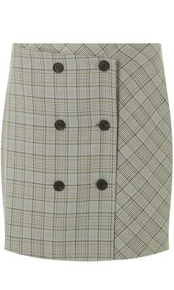 45699001d9 Dorothy Perkins Womens Multi Coloured Checked Mini Skirt