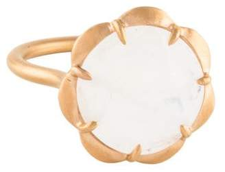 Jamie Wolf 18K Moonstone Scalloped Ring