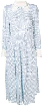 Fendi floral belted dress