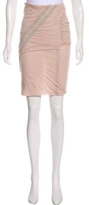 Stella McCartney Lace-Accented Knee-Length Skirt w/ Tags