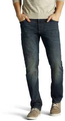 Lee Big & Tall Men's Extreme Motion Straight Fit Jeans