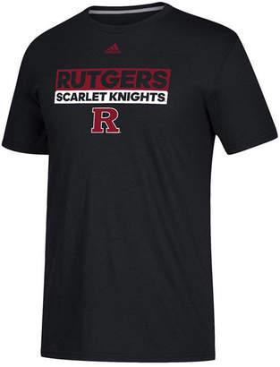 adidas Men's Rutgers Scarlet Knights Performance Wordstack T-Shirt