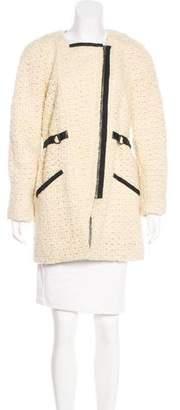 Mayle Wool Short Coat