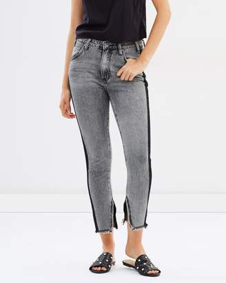 One Teaspoon Freebirds High Waist Skinny Jeans