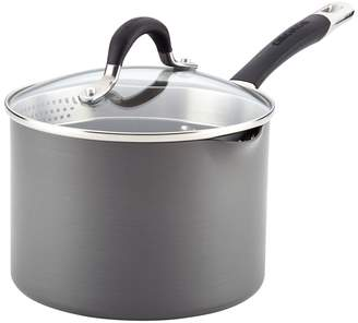 Circulon 3QT. Momentum Stainless Steel Covered Saucepan