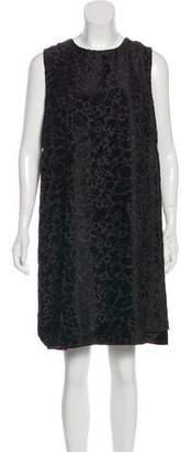 Philosophy di Alberta Ferretti Velvet Shift Dress