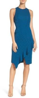 Women's Charles Henry Asymmetrical Dress $98 thestylecure.com