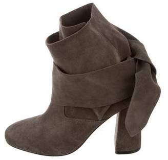 Sigerson Morrison Tie-Up Sally Boots w/ Tags