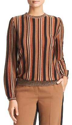 Marella Betel Lurex Striped Sweater