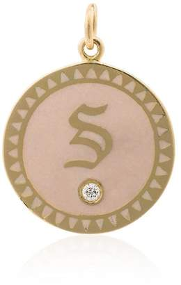 Foundrae Petite Champleve alphabet medallion