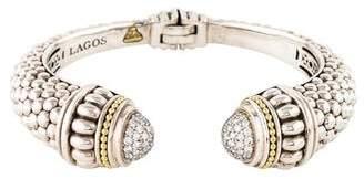 Lagos Diamonds & Caviar Cuff