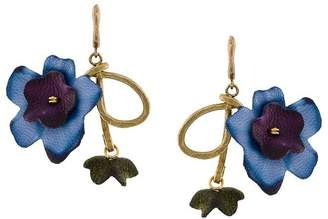 Marni floral drop earrings