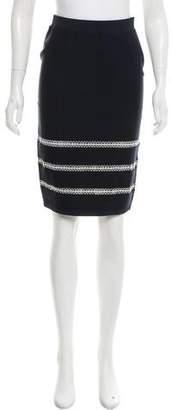Jonathan Simkhai Embroidered Knit Skirt