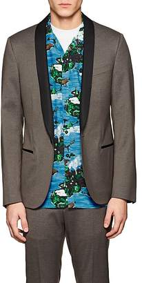Lanvin Men's Wool-Blend One-Button Tuxedo Jacket