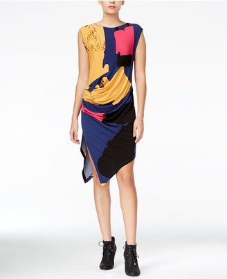 RACHEL Rachel Roy Patterned Sheath Dress, Only at Macy's $99 thestylecure.com