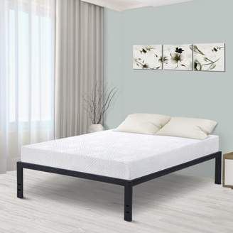 "GranRest 18"" Metal Slat Platform Bed, Multiple Sizes"