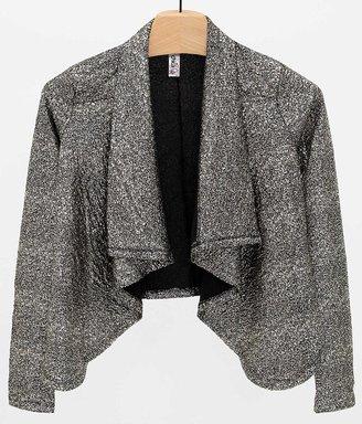 Mimi Chica Gold Foiled Blazer $39.95 thestylecure.com