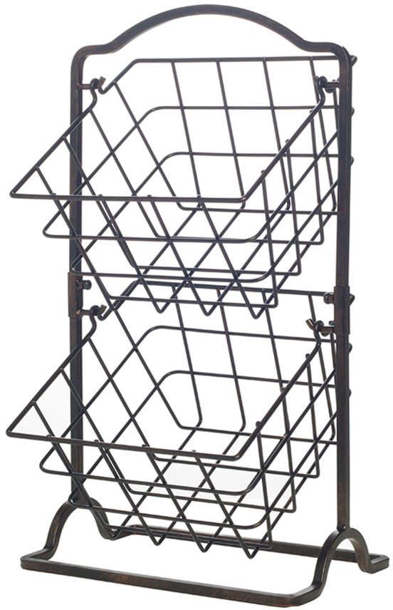 Gourmet Basics 2 Tier Wire Hanging Basket