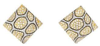 Sonia Bitton 18K Diamond Animal Print Earrings