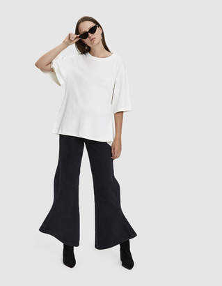 Aalto Draped Cotton T-Shirt