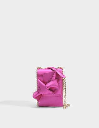 N°21 N21 Micro Bow Bag in Fuchsia Cotton