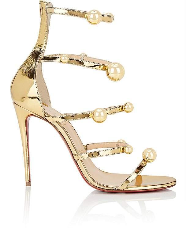 Christian Louboutin Women's Atonana Specchio Leather Sandals