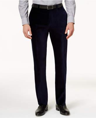 Calvin Klein Men's Slim-Fit Velvet Dress Pants