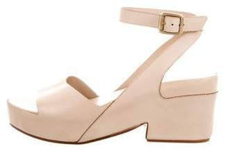 Roberto Del Carlo Leather Ankle-Strap Sandals