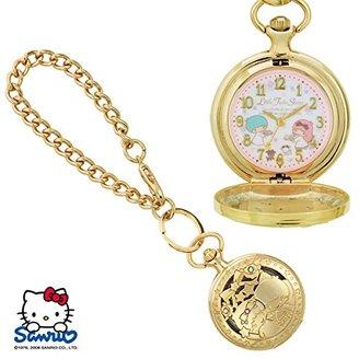 SANRIO (サンリオ) - SANRIO サンリオ KITTY キティ 透かし懐中ウォッチ 人気キャラクターの可愛い時計 キキララ SR-M02-TS