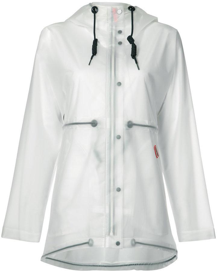 HunterHunter vinyl smock transparent coat
