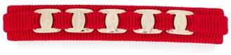 Salvatore Ferragamo logo ribbon hair clip
