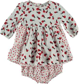 Stella McCartney Baby Girl's Ladybug Bloomer Dress Set