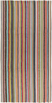 Paul Smith Multicolor Textured Multistripe Scarf