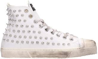 Gienchi White Rubber Jean Michel Sneakers