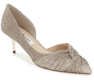 Nina 'Taylie' Half d'Orsay Pointy Toe Pump (Women) $84.95 thestylecure.com