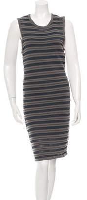 Yigal Azrouel Cut25 by Stripe Pattern Knit Dress w/ Tags