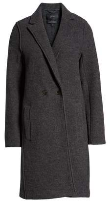 J.Crew Daphne Boiled Wool Topcoat