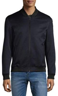HUGO BOSS Bellagio Sateen Bomber Jacket