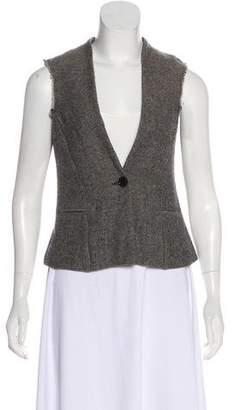 Etoile Isabel Marant Tweed Sleeveless Vest