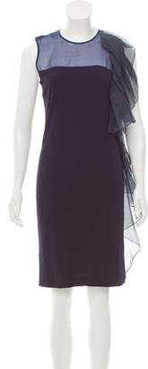 Azzaro Sleeveless Ruffle Dress w/ Tags