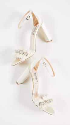 Badgley Mischka Fleur Ankle Strap Sandals