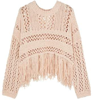 Free People Higher Love Blush Open