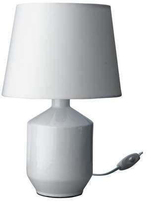 ColourMatch Ceramic Table Lamp - Super White