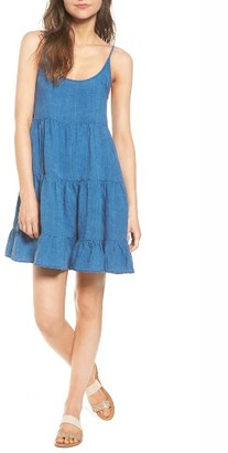 Women's Rails Amber Chambray Dress $158 thestylecure.com