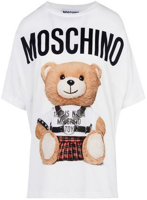 Moschino Short Sleeve T-Shirts $225 thestylecure.com