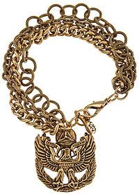 Yochi Design Yochi Semper Vigilans Charm Bracelet