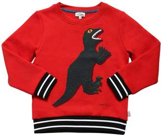 Paul Smith Dino Print Cotton Blend Sweatshirt